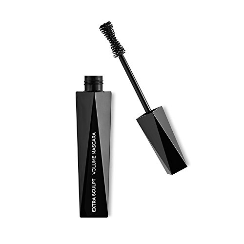 KIKO MILANO - Extra Sculpt Volume Mascara Black for Fuller-Looking Lashes With a Panoramic Effect  Designer Packaging  Cruelty Free  Hypoallergenic Mascara  Professional Makeup  Made in Italy
