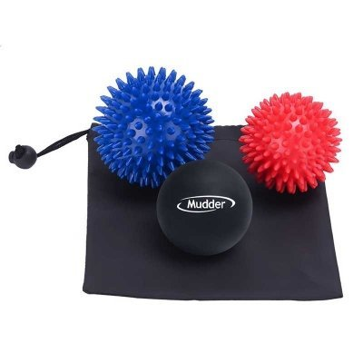Massage ball and Lacrosse Massage Ball Set for for Body Therapy and Plantar Fasciitis 3 Pack by ppstore99