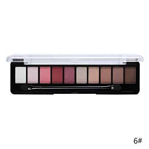 Silvercell Earth Color Pro Eyeshadow Palette Glitter Eye Palette Makeup Pigment