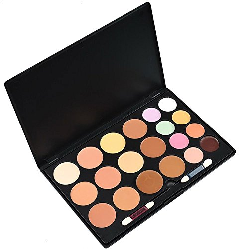 "LEFVâ""¢ Makeup Contour Kit 20 Colors Concealer Camouflage Foundation Palette Complete Coverage Face Cream"