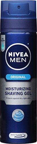 NIVEA FOR MEN Moisturizing Shaving Gel 7 oz Pack of 3