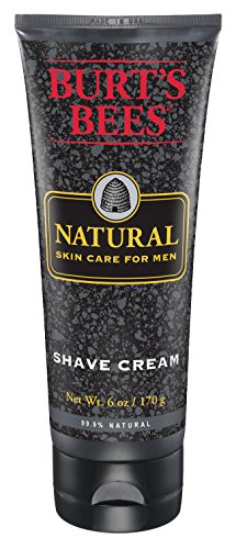 Burts Bees Natural Skin Care for Men Shave Cream 6 Ounces Pack of 3