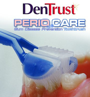 DenTrust 3-Sided PERIO CARE Toothbrush Periodontal Disease Gum Care  Made In USA