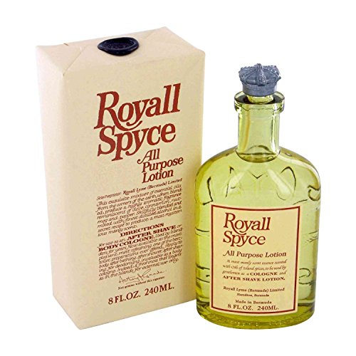 Royall Spyce By Royall Fragrances For Men Aftershave Lotion Cologne 8 Ounces