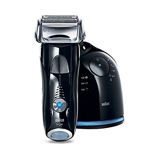 Braun Series 7 760cc-4 Electric Foil Shaver for Men with Clean Charge Station Electric Mens Razor Razors Shavers Cordless Shaving System