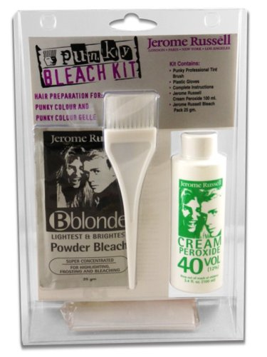 Jerome Russel Punky Color Hair Bleaching Kit Vol 40